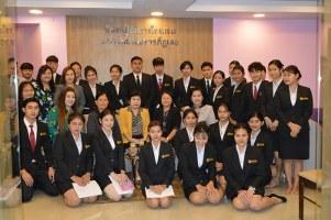สาขาภาษาอังกฤษและสาขาภาษาอังกฤษธุรกิจเข้าศึกษาดูงาน ห้องปฏิบัติการโรงแรม สาขาวิชาการท่องเที่ยวและการโรงแรม
